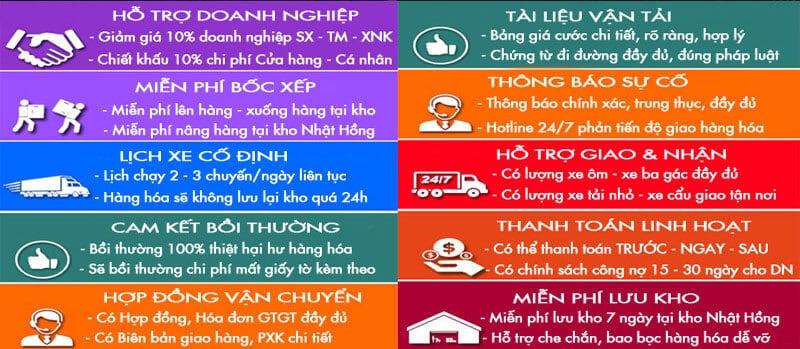 Vì sao nên chọn chuyển hàng đi Hà Nội tại Vận Tải Nhật Hồng ?