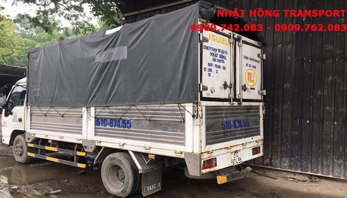 chở hàng đi Quảng Nam