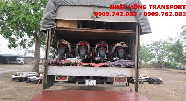 gửi xe máy từ Hưng Yên vào Sài Gòn